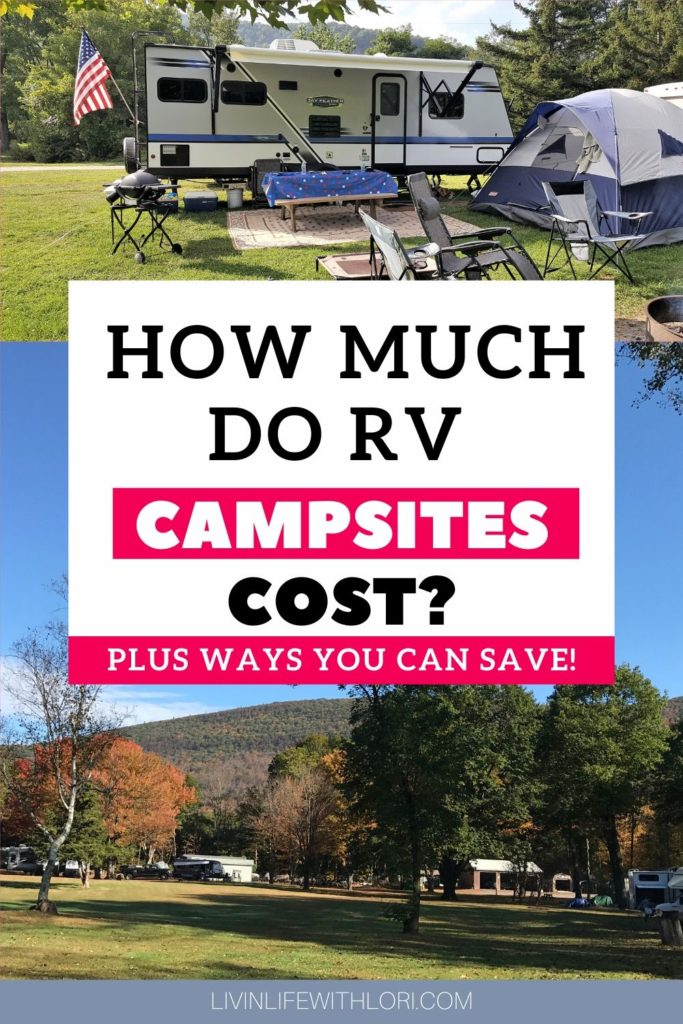 What's the Average Cost of an RV Campsite?