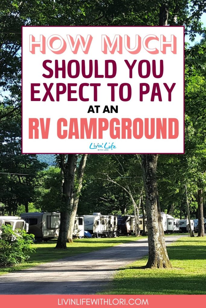 How Much Does The Average RV Campsite Cost?