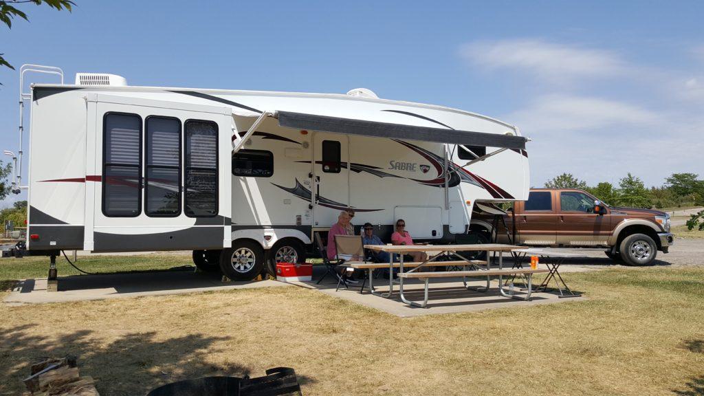 Mozingo Lake Campground