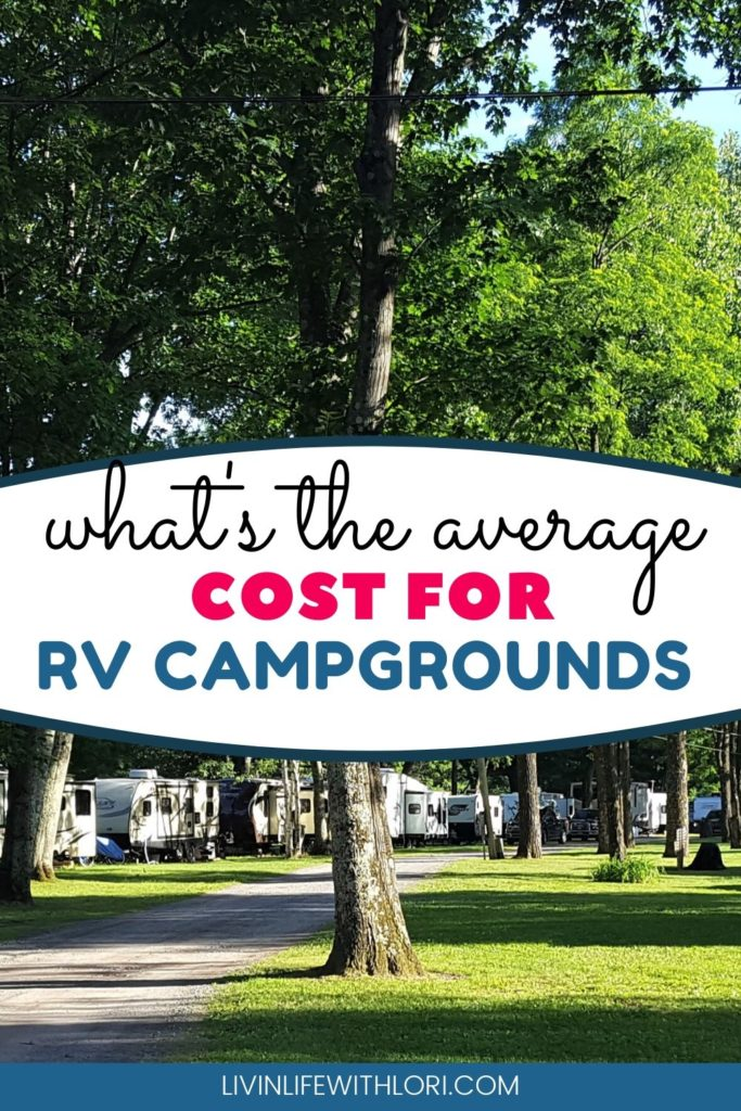 How Much Do RV Campsites Cost