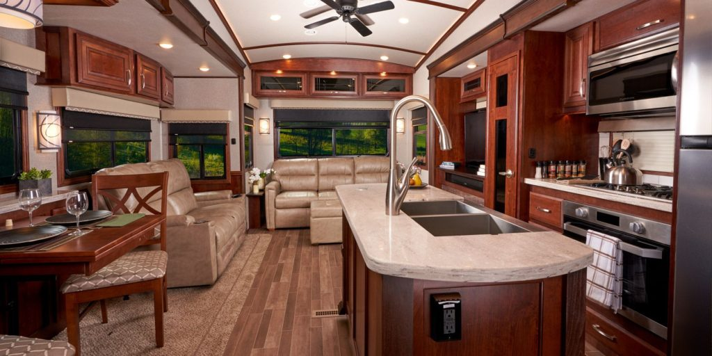 Jayco Pinnacle Kitchen - Photo courtesy Jayco.com
