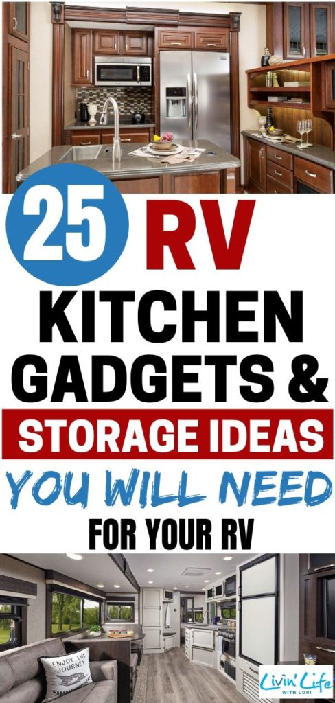 RV Kitchen Gadgets and Storage Ideas You Will Need For Your RV