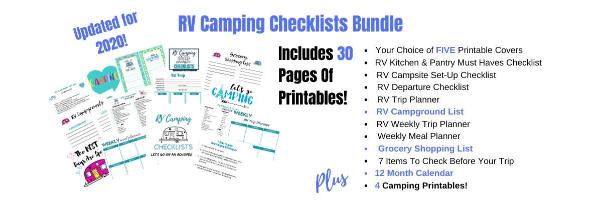 RV Camping Checklists New