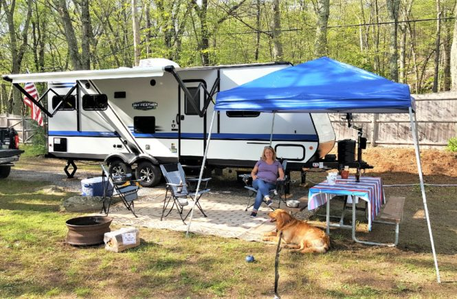 RV Tips For Beginners at the campground