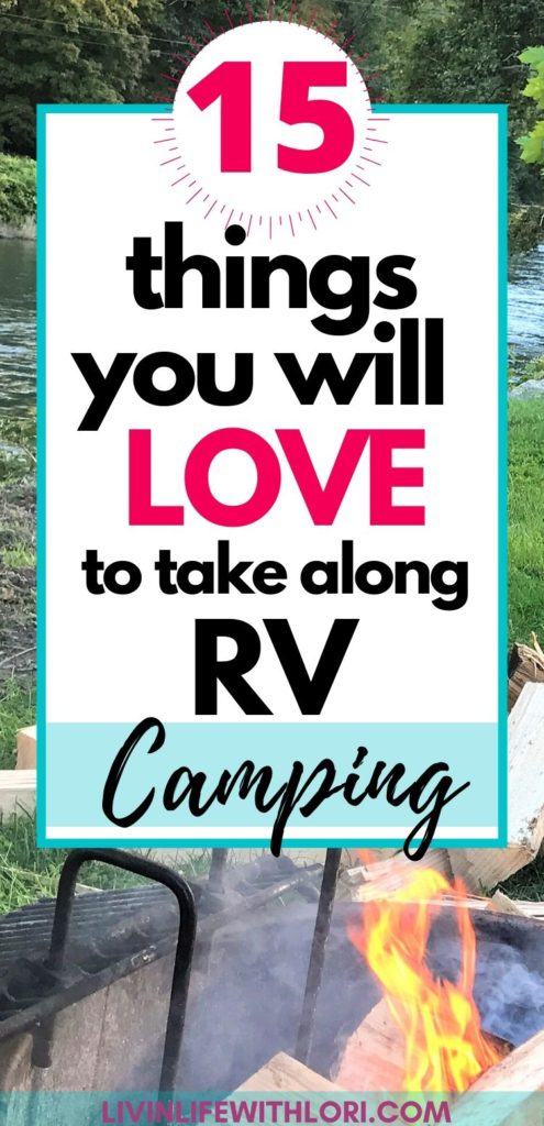 15 things you will love to take along RV Camping