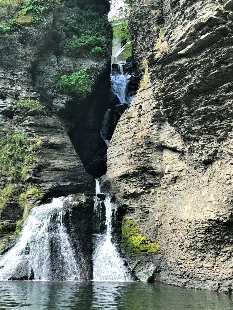 Falls at Mine Kill State Park