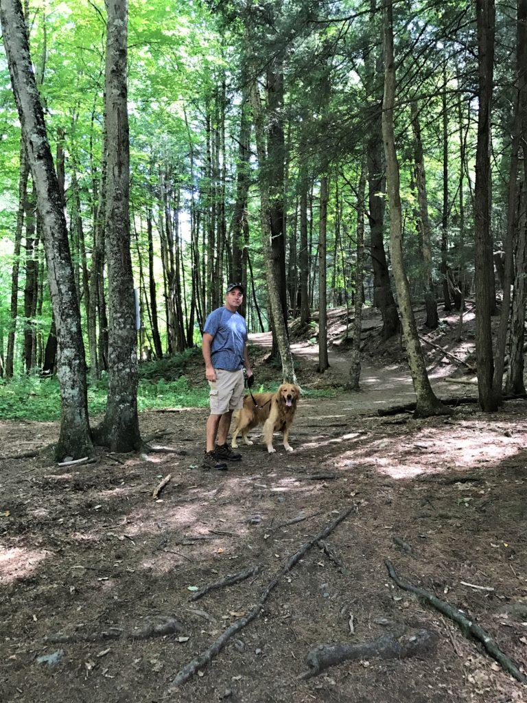 Hiking Trails at Mine Kill State Park New York