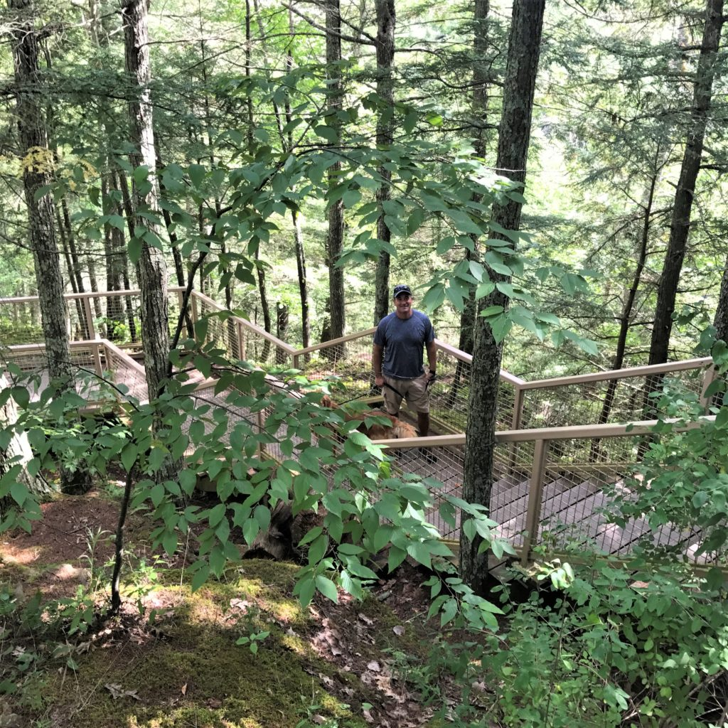Taking a Hike To Minekill State Park Overlook