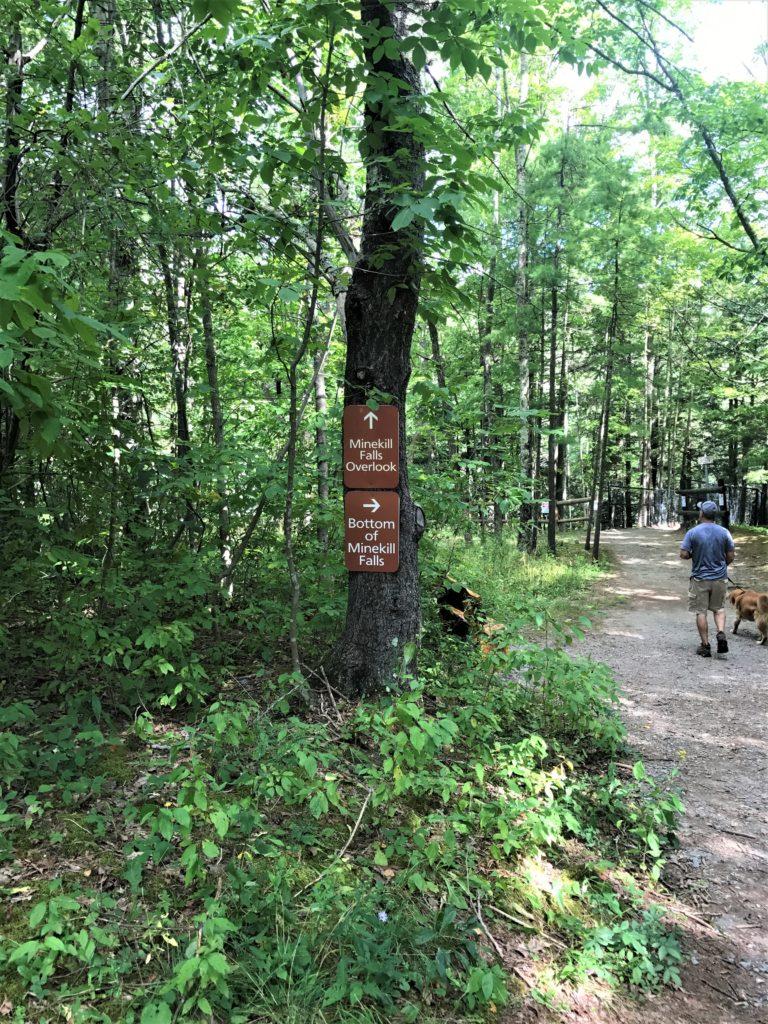 Path to the Minekill Overlook