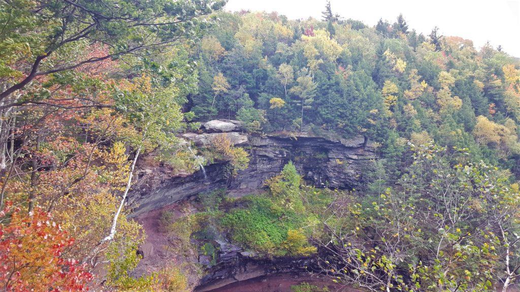 Kaaterskill Falls in the fall