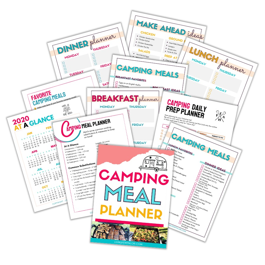 Meal Planner For Campers