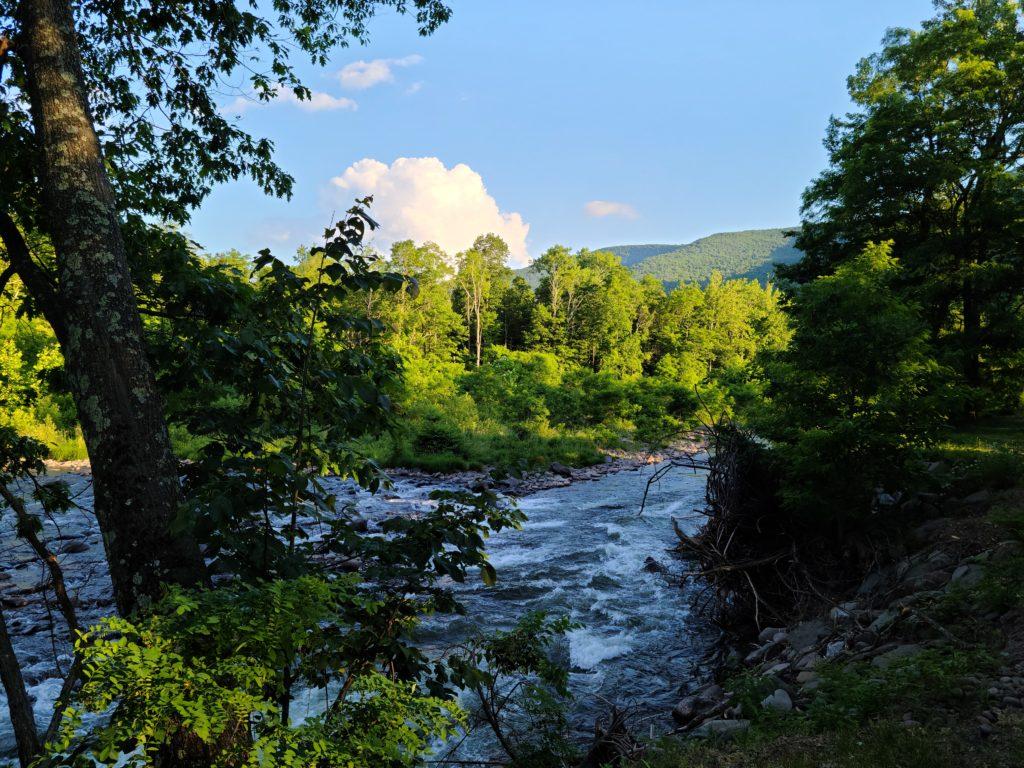 Beautiful Mountain views of the Catskills