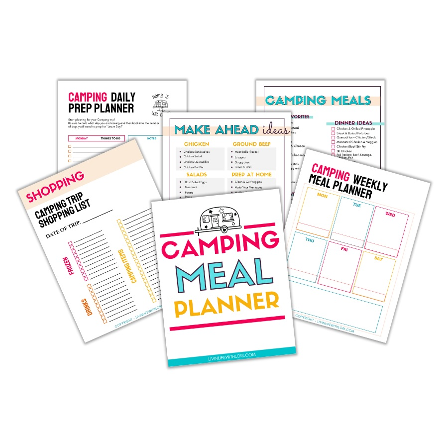 Camping Meal Planning Ideas