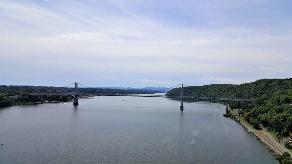 looking at Mid-Hudson Bridge
