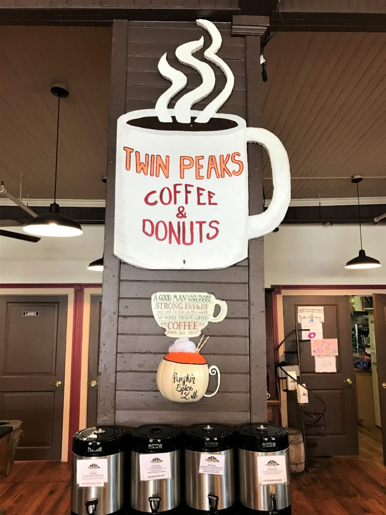Twin Peaks Coffee and Donuts Tannersville NY