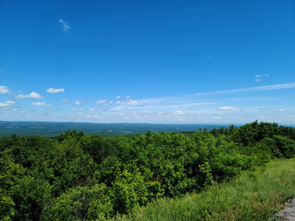 View of Five States Catskills