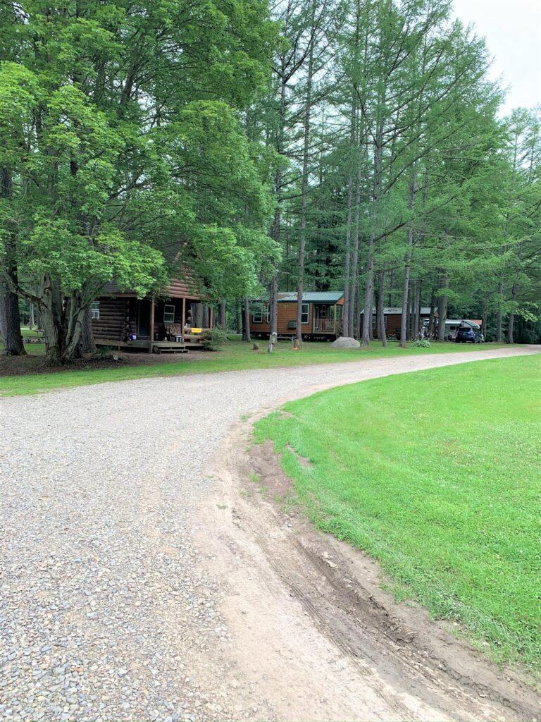 camping cabins at houghton letchworth koa