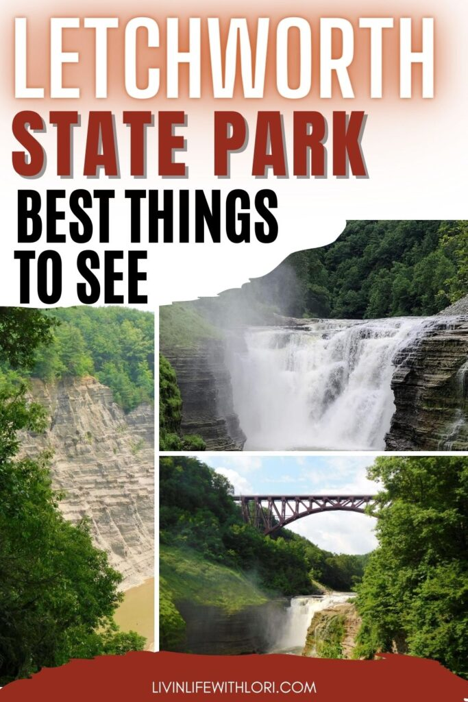 best things to see and do at Letchworth State Park