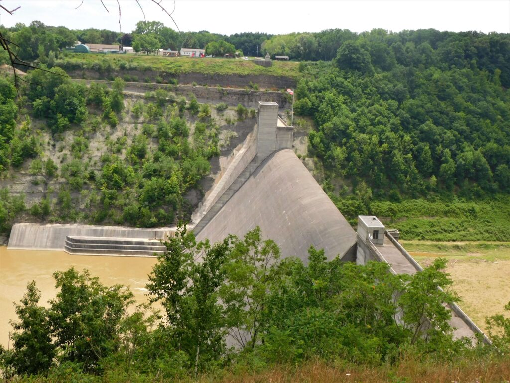 Mt Morris Dam at Letchworth State Park