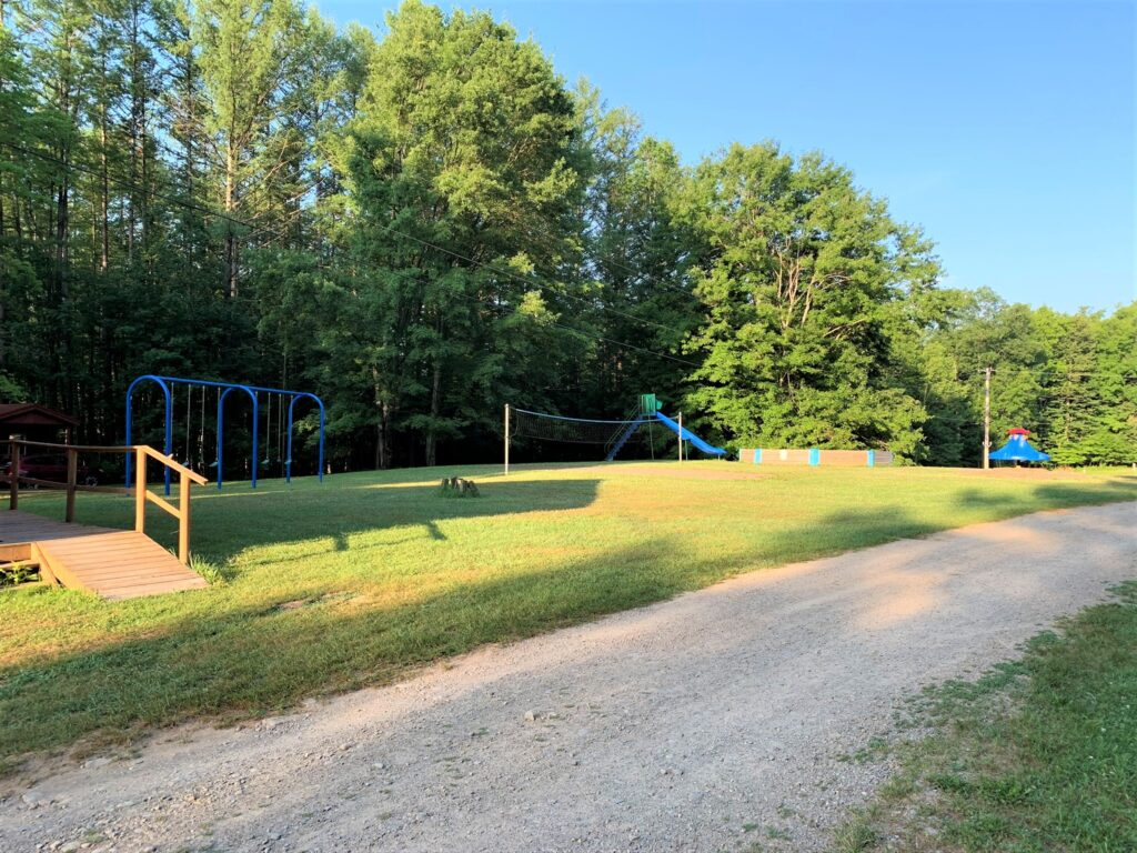 Playground at Houghton Letchworth KOA