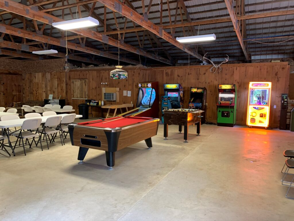 Recreation Room at the Lodge