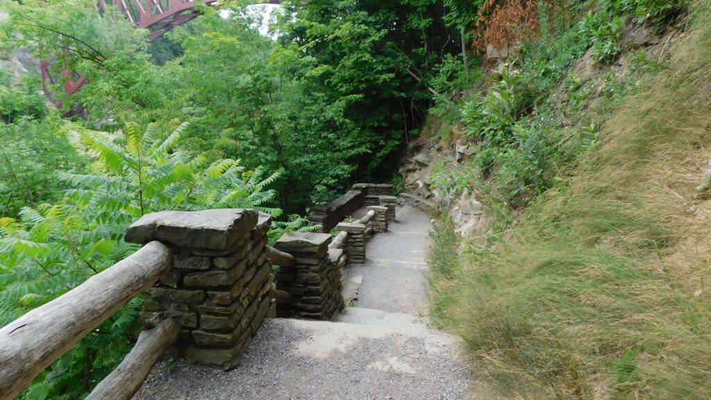 Gorge Trail Portageville Entrance