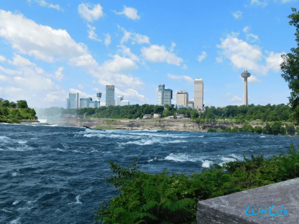 Canada Skyline from Niagara Falls NY