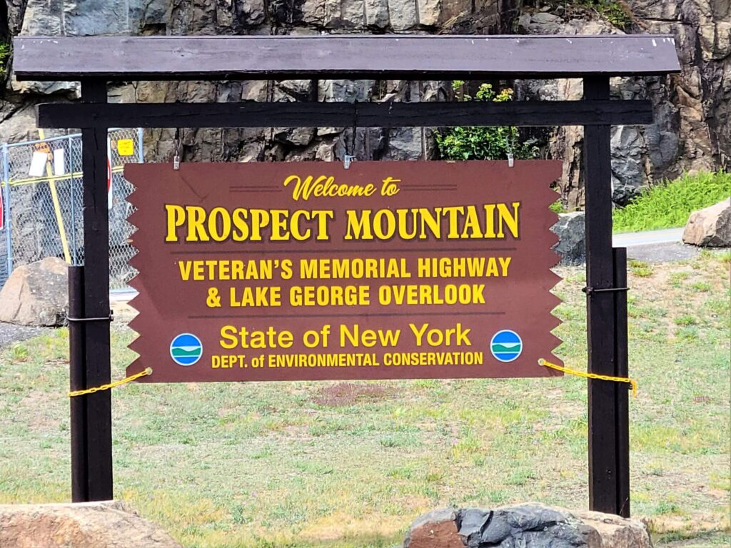 Entrance to Prospect Mountain Lake George
