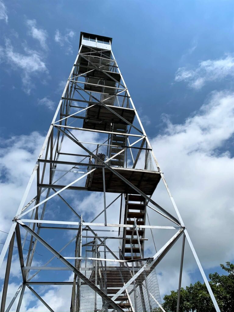 Fire Tower on Overlook Mountain Woodstock, NY
