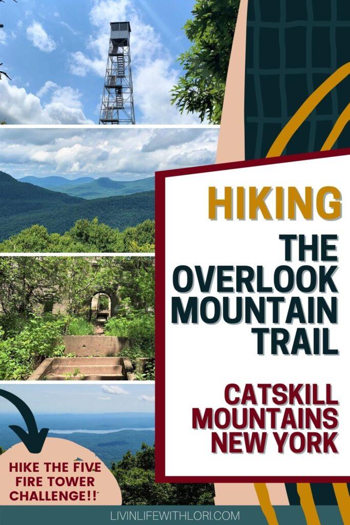 hiking overlook mountain trail woodstock ny