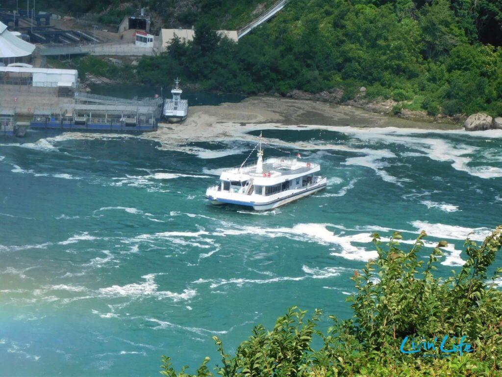 Boat tour at Niagara Falls