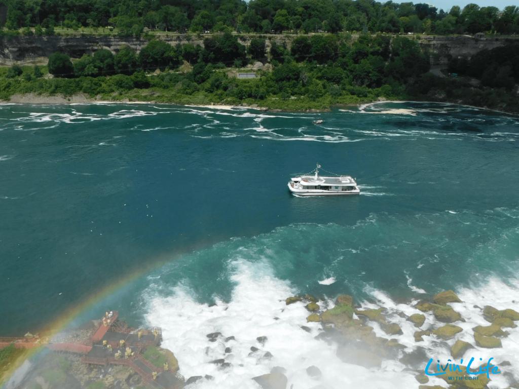 Maid of the Mist boat tour at Niagara Falls NY