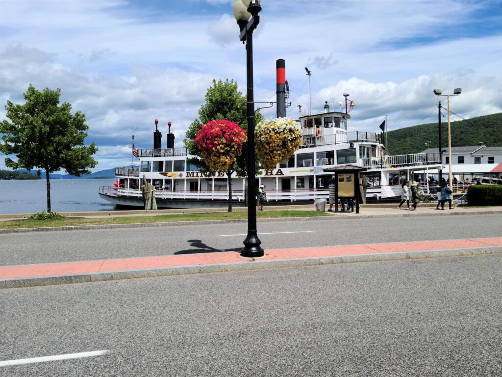 Minnehaha Steam Boat Lake George NY