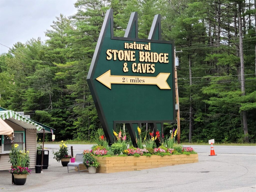Natural Stone Bridge and Caves Pottersville, NY