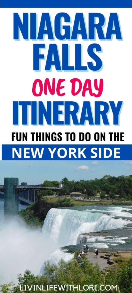 One Day Niagara Falls