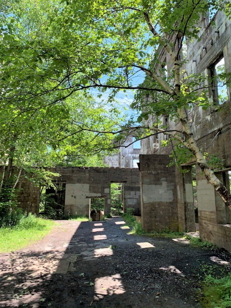 Overlook Mountain House Hotel abandoned