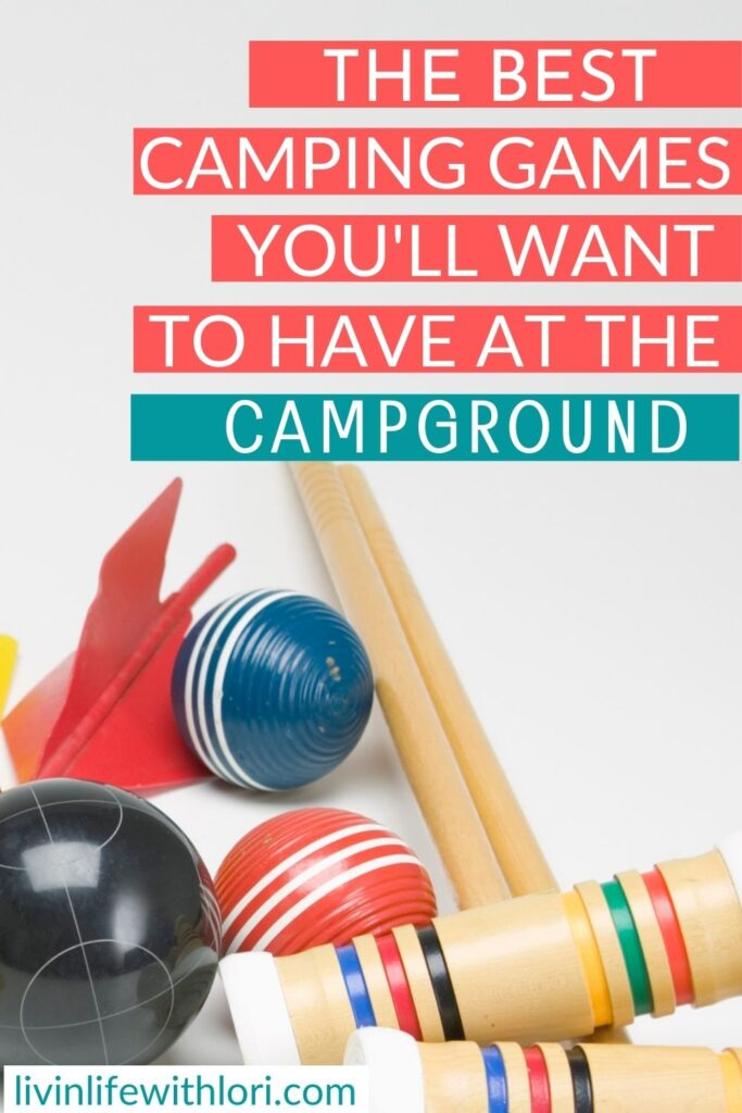 Camping Games For Families At The Campground