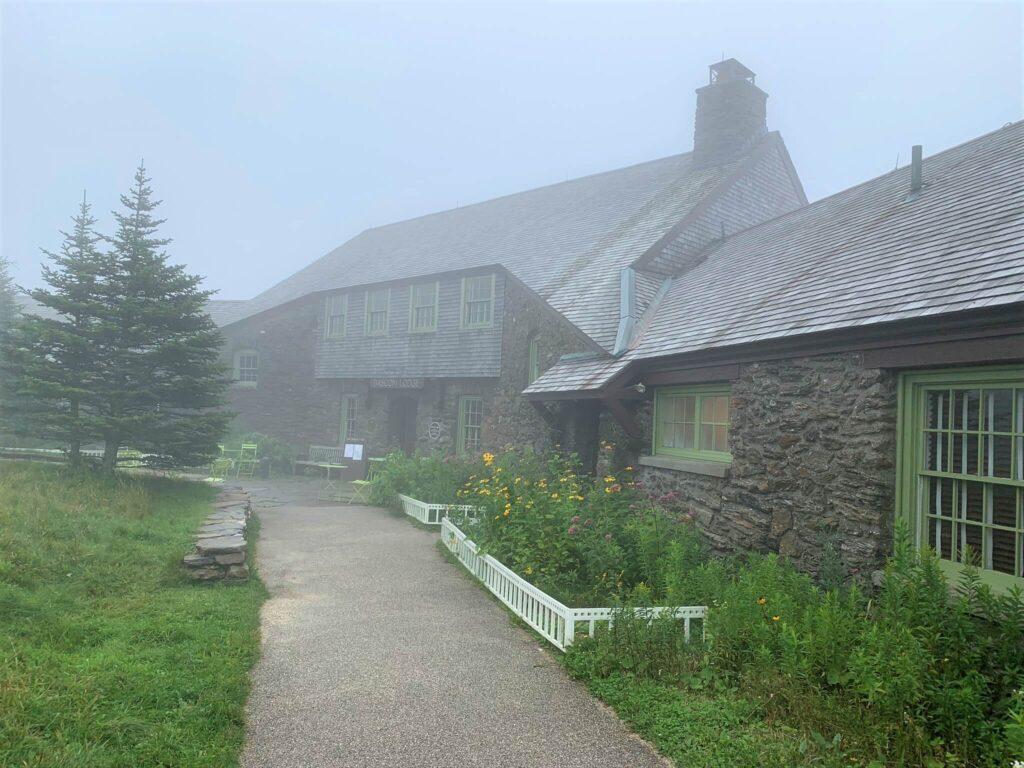 Bascom Lodge at Summit of Mount Greylock