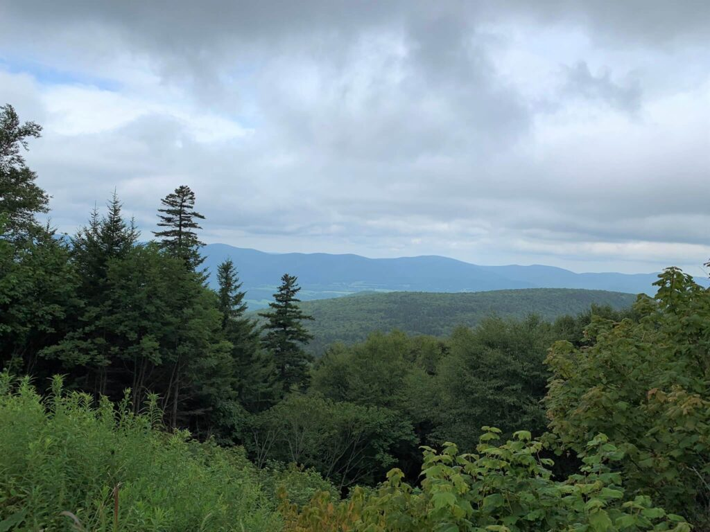 Beautiful views from Mt Greylock MA