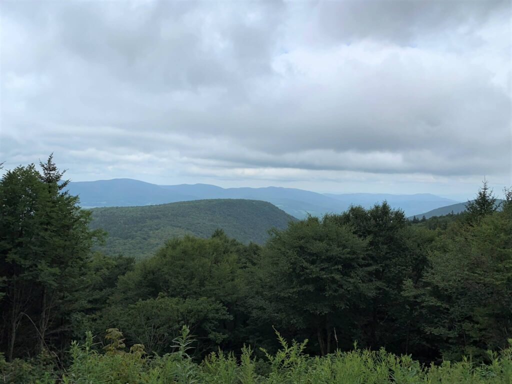Berkshire Mountains and Taconic Mountains at Mount Greylock