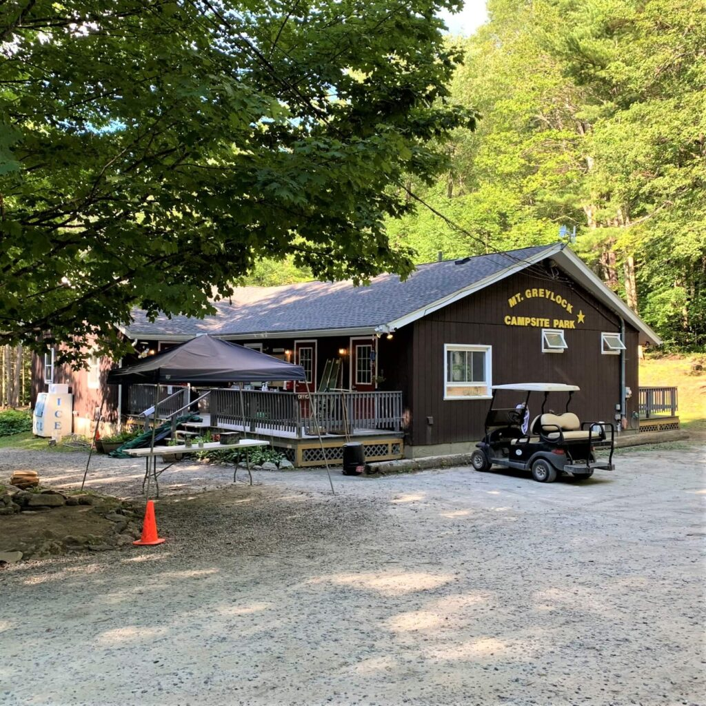 camp office mt greylock campsite park MA
