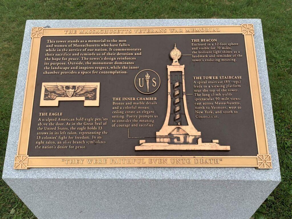 Massachusetts Veterans War Memorial Tower