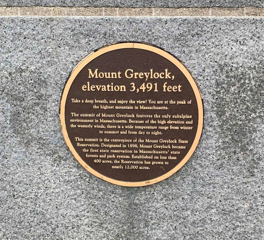 Mount Greylock Highest Point In Massachusetts