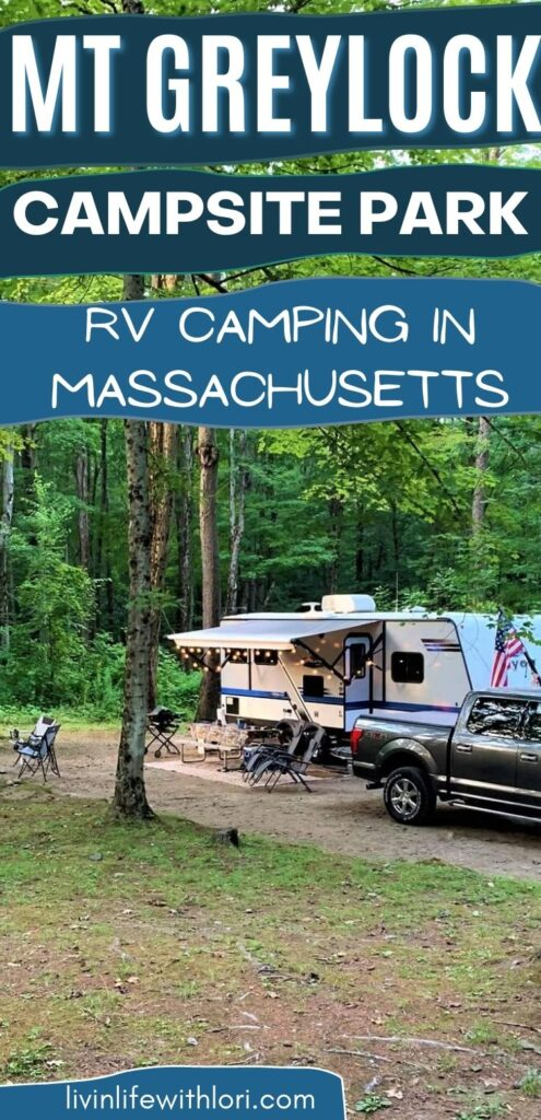 Mt Greylock Campsite Park RV Camping In Massachusetts