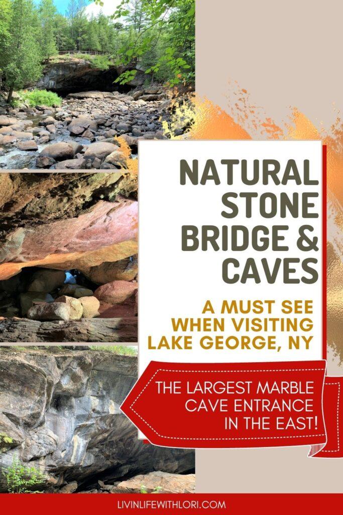 Natural Stone Bridge and Caves Pottersville NY