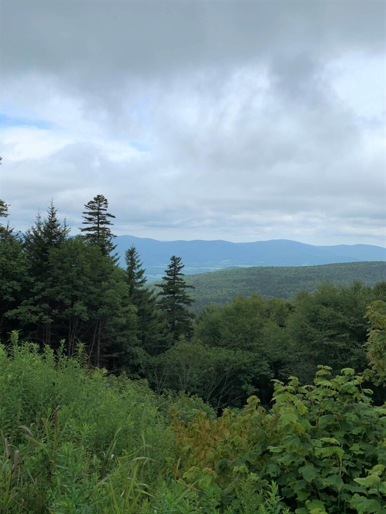 Berkshire and Taconic Mountains in western Massachusetts