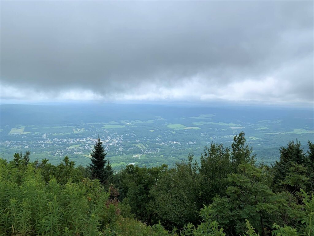 Views from top of Mt. Greylock