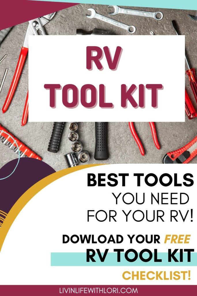 RV Tool Kit checklist