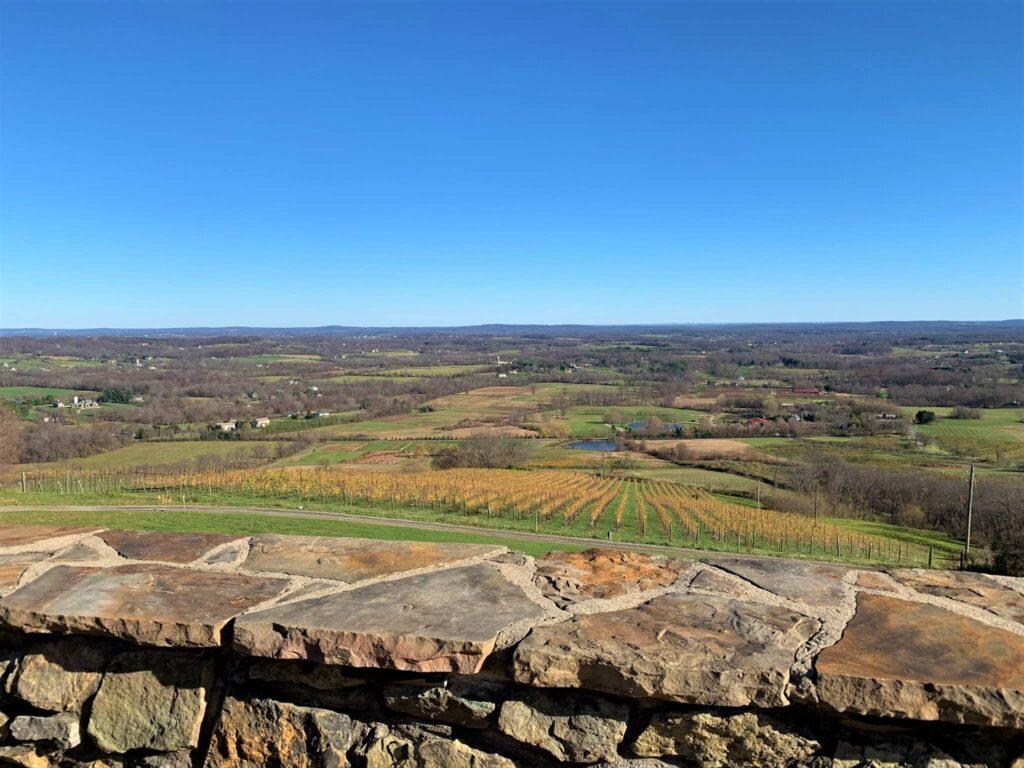 Amazing Views from Dirt Farm Brewery VA