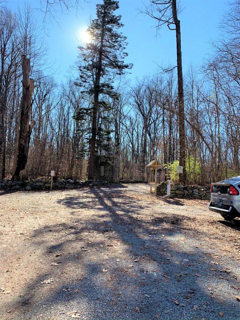 Bears Den Parking Lot Bluemont VA